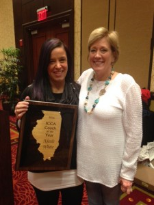 Nicole White 2016 Coach of Year