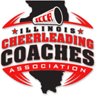 Logo for Illinois Cheerleading Coaches Association